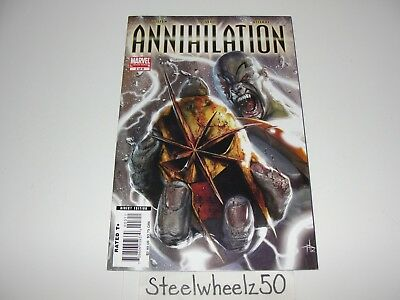 Annihilation #3 Comic Marvel 2006 Silver Surfer Drax Nova Ronin Gamora Guardians