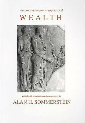Aristophanes: Wealth: v. 2 (Aris & Phillips Classical Texts) - New Book