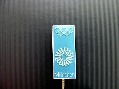 J0164 Pin OTTL AICHER Olympiade 1972 Emaille auf Tombak 1972 ...