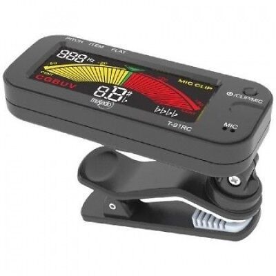 Musedo MUS-T-91RC Clip-On Tuner Multi-Coloured. Free Delivery