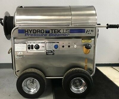 Premium Used Hydro Tek HP22005E2 Electric 4.2GPM@3000PSI Hot Pressure Washer