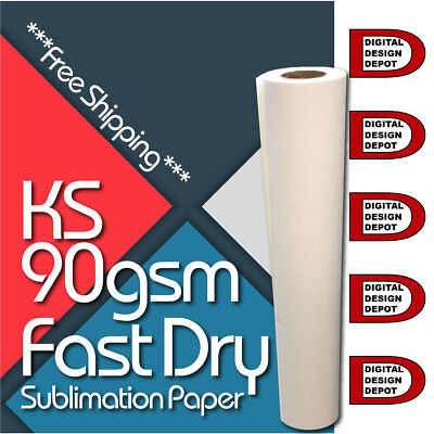 """Dye Sublimation Paper 44"""" Roll  90GMS X 100 meter"""