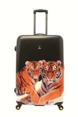 NATIONAL GEOGRAPHIC Tiger Hard Side Luggage 2pc Set FREE POSTAGE BNWT