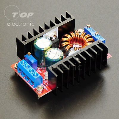 80W 12A Auto Boost Buck Regulator Module 10-35V to 1-35V Charging Module