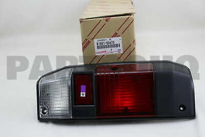 8156160470 Genuine Toyota LENS, REAR COMBINATION LAMP, LH 81561-60470