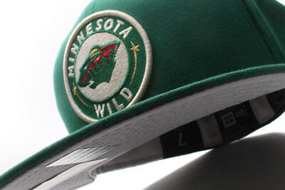 big sale 30e85 782b5 inexpensive minnesota wild nhl new era 59fifty fitted green white 56fb4  c52d4