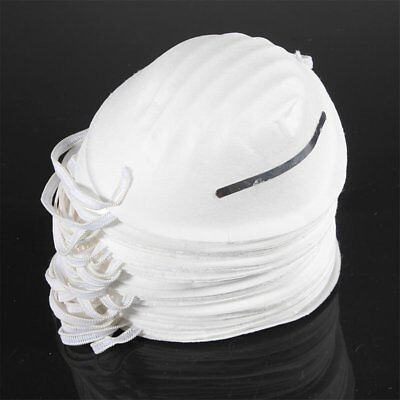50x Dust Face Masks Filter Mouth Disposable Safety Respirator Antidust Clea O6B1