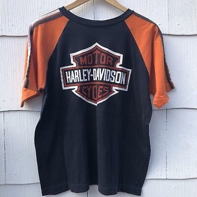 Vtg 1970's 1980's HARLEY DAVIDSON Motorcycles Black Hills Rally for bikers only