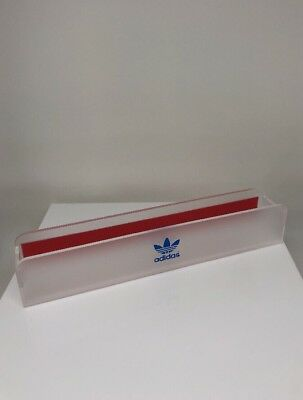 New Adidas Display Logo OFFICIAL Frosted DEALER LOGO PLAQUE Adidas Sport