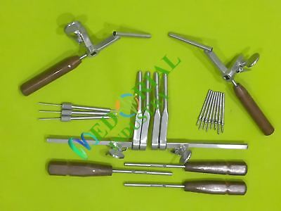 CASPER Vertebral Body Cervical Distractor Complete System Set neurosurgical Inst