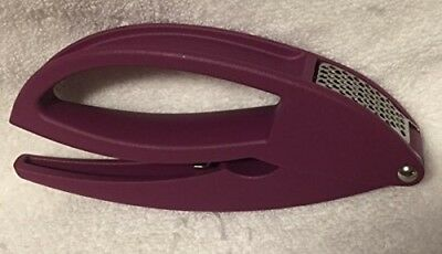 Tupperware Garlic Wonder Press in Rhubarb Purple. Huge Saving