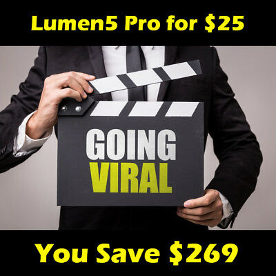 Create Unlimited Videos from Text or Articles with Lumen5 - No Technical Need
