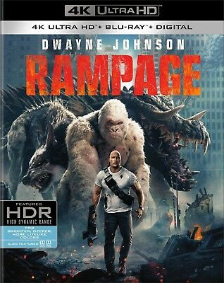 Rampage (4K Ultra HD)(UHD)(Dolby Vision)(Atmos)