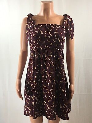 GET 50/% OFF BUY 3 WOMEN/'S KNOT-SLEEVE FIT /& FLARE DRESS By XHILARATION; BLACK!