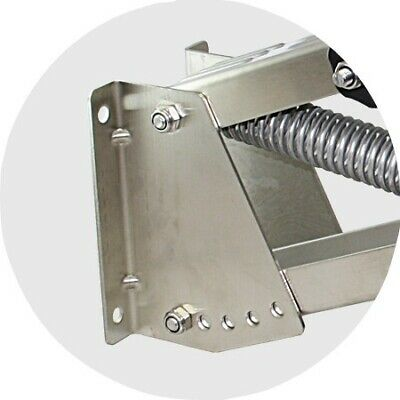 Stainless Steel Adjustable Outboard Motor Bracket for Motors up to 10HP