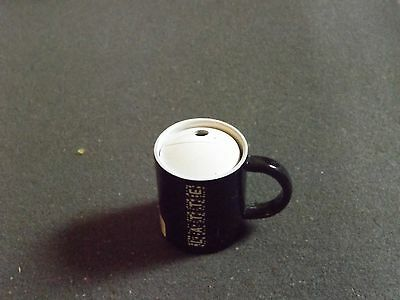 COFFEE CUP REFILLABLE LIGHTERS black