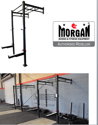 4 in 1 CROSSFIT ASSAULT RACK CHIN UP SQUAT POWER CAGE RIG Olympic Bench stands