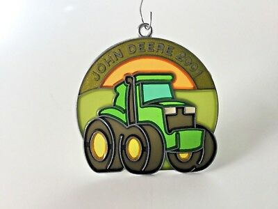 John Deere 2001 Suncatcher / Ornament - 20th of series