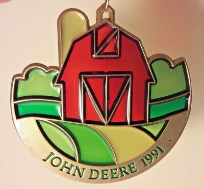 John Deere 1991 Suncatcher / Ornament - 10th of series
