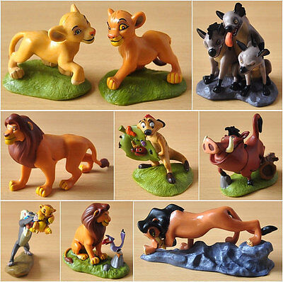 9 pcs The Lion King Figures Collection Movie Simba Toy Set