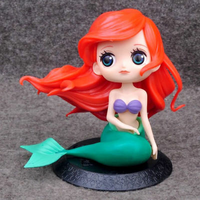 Q posket Disney Characters Little Mermaid GIRL PVC figure Toy Gifts Loose Ariel