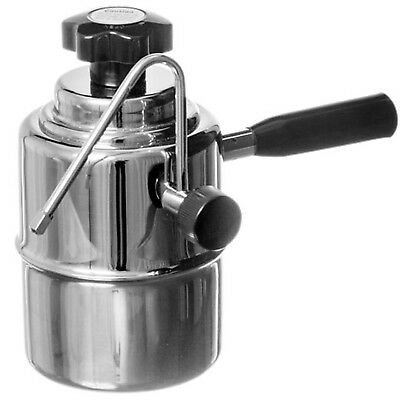 NEW Bellman Stainless Stovetop Milk Steamer 50SS for Lattes and Cappuccinos