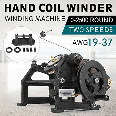 VEVOR Coil Winder Manual Automatic Coil Winding Machine Hand NZ-2 US Stock