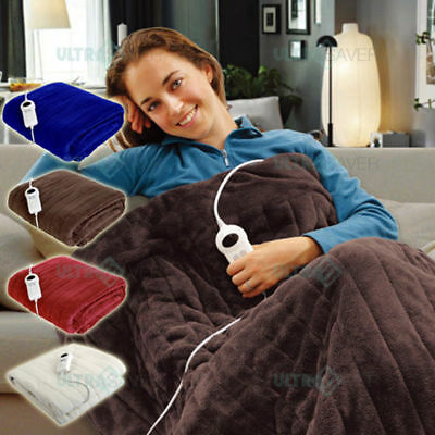 Brand new - Heated Throw/ Rug/ Blanket with Electronic Timer & Heat settings