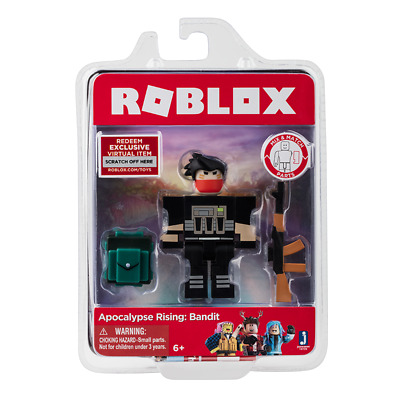 APOCALYPSE RISING: BANDIT Roblox Core Figures Toys Packs NEW+Virtual Game Codes