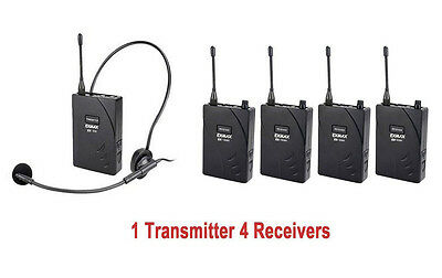 TAKSTAR Wireless Tour Guide System UHF-938 Church Translation Training System
