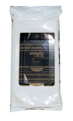 Skinn Simply Sun Kissed Tanning Cloths for Face & Body 30 PC. Free Delivery