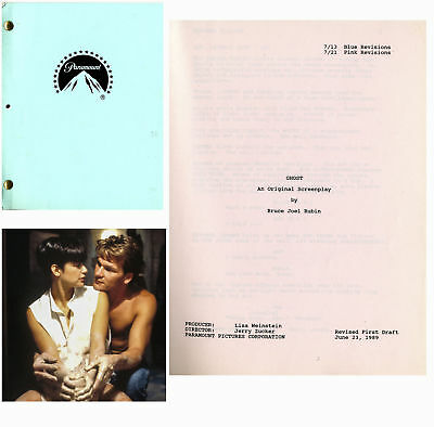 Patrick Swayze's Personal Copy of the Script for Ghost