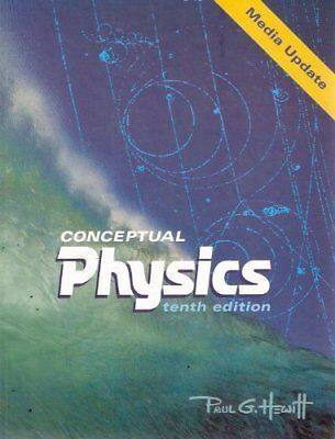 CONCEPTUAL PHYSICS MEDIA UPDATE (10TH EDITION) By Paul G. Hewitt - Hardcover NEW