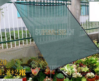 Sunshade Net Outdoor Sunblock UV Protection Shade Cloth Net Cover 90% Shade Rate