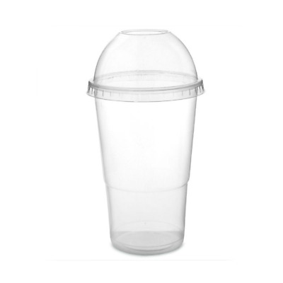 Smoothie/Drinks/Slushes Disposable Cups With Lids