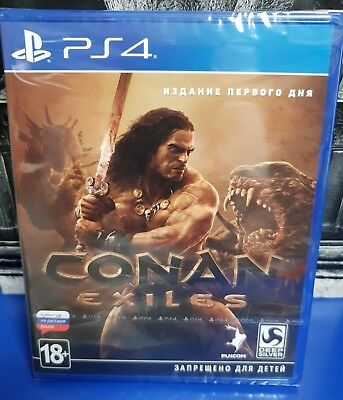 Conan Exiles DAY ONE EDITION PS4 Brand New / Sealed