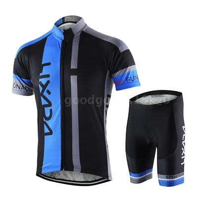 Hommes respirant Quick Dry Comfortable Jersey à manches courtes + Shorts F3O5