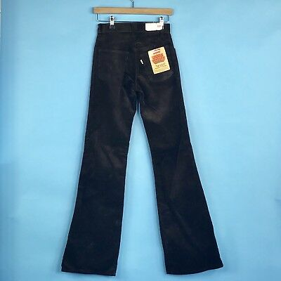 Vintage Levi's High Waisted Super Cord Flares Flared Jeans Trousers W26 / L36