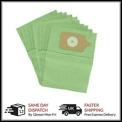 10 x PAPER DUST Bags fit Numatic Henry Hetty Hoover Vacuum Cleaner