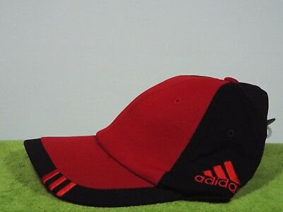 3318adf799a NEW ADIDAS CLIMACOOL FlexFit Fitted Hat Cap - Red Black Large XL (L ...