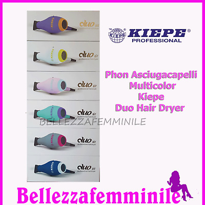 Phon asciugacapelli professionale 2000-2400 W Kiepe Duo Hair Dryer