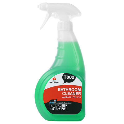 Selden T002 Bathroom Cleaner - 750ml Trigger Spray - FREE 48 HOUR DELIVERY