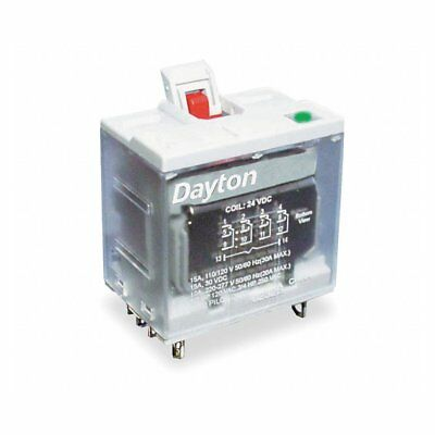 1FC12 120VAC 14-Pin 4PDT Square Base General Purpose Plug-In Relay 15A @ 277VAC