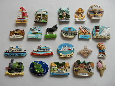 One Selected 3D Souvenir Fridge Magnet from the Isle of Wight
