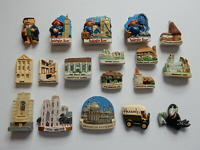 One Selected 3D Souvenir Fridge Magnet from the UK Places of Interest