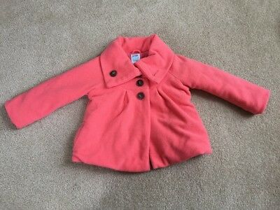 Old Navy girls 4T fleece button up thick jacket