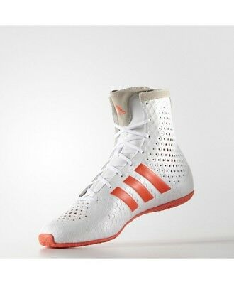 New Adidas KO Legend 16.1 White Mens Hi Boxing Boots Shoes rrp £140 On Sale