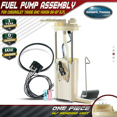 fuel pump assembly w/ wires harness for chevy tahoe gmc yukon 5 7l 96-