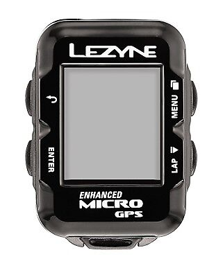 (Without Additional Devices, Black) - Lezyne Micro Navigate Gps Cycle / Bike