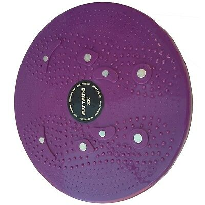 (Purple) - AT Bags Waist Twisting Disc Figure Twister Twister Moves Ankle Body